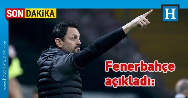 Fenerbahçe, Erol Bulut, Teknik Direktör,
