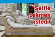 Photo of Turist, Canova'nın heykelinin parmaklarını kırdı