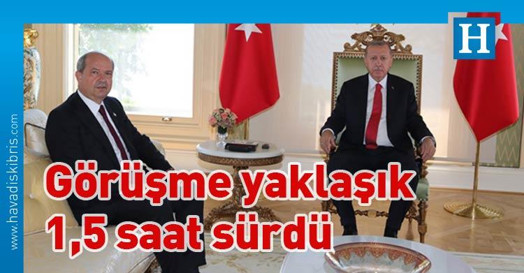 Türkiye Cumhurbaşkanı Recep Tayyip Erdoğan, Başbakan Ersin Tatar,