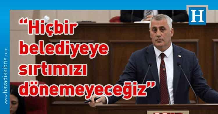 Olgun Amcaoğlu, meclis, avans, Maliye Bakanı Olgun Amcaoğlu, Gazimağusa Belediyesi,