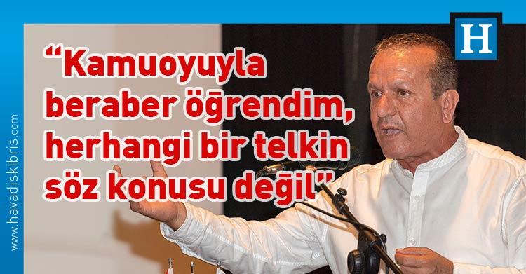 Demokrat Parti (DP) Genel Başkanı Fikri Ataoğlu, TC Cumhurbaşkanı Yardımcısı Fuat Oktay, UBP Genel Başkanı ve Başbakan Ersin Tatar, YDP Genel Başkanı Erhan Arıklı, KKTC, Hükümet, Cumhurbaşkanlığı seçimi