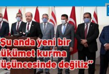 Photo of Başbakan Tatar yurda döndü…