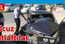 Photo of Girne Kapısı'nda çarpışma