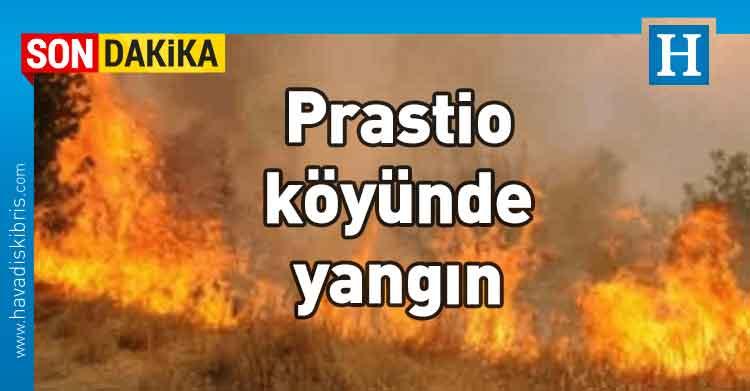 yangın, Prastio, Güney Kıbrıs,