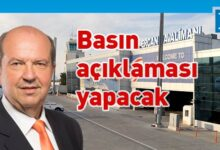 Photo of Başbakan Tatar, Ercan'da basın açıklaması yapacak