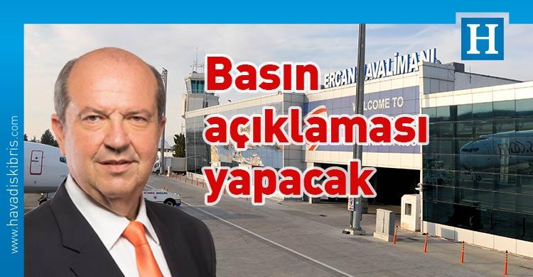 Başbakan Ersin Tatar, TC Cumhurbaşkanı Yardımcısı Oktay, Ercan Havaalanı, havaalanı, açıklama
