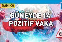 Photo of Güneyde 3775 test, 14 yeni vaka