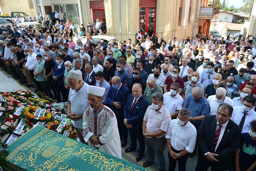 Osman Adil Özgey, vefat, Lefke