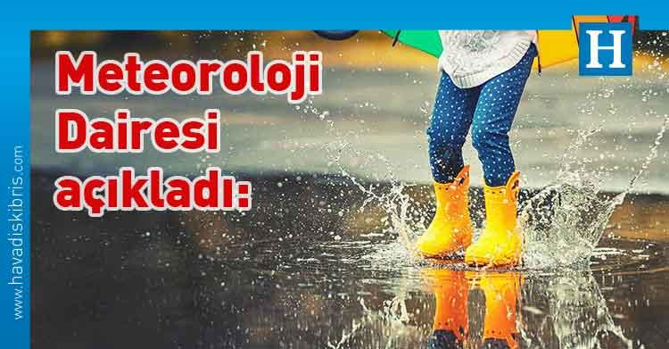 Meteoroloji Dairesi, yağmur, Hava sıcaklığı