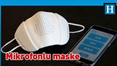 Photo of Japonya'da sekiz dilde çeviri yapabilen ve sosyal mesafeyi koruyan maske üretildi