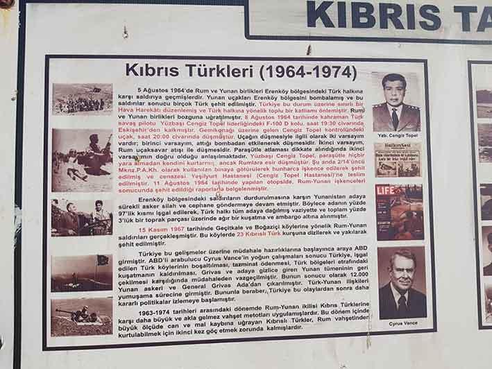 Pilot Yüzbaşı Cengiz Topel, Erenköy direnişi, Kıbrıs, Dillirga, Erenköy