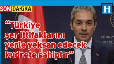 Photo of TC Dışişleri Sözcüsü: Doğu Akdeniz'de gerginliği artıran Yunanistan'dır