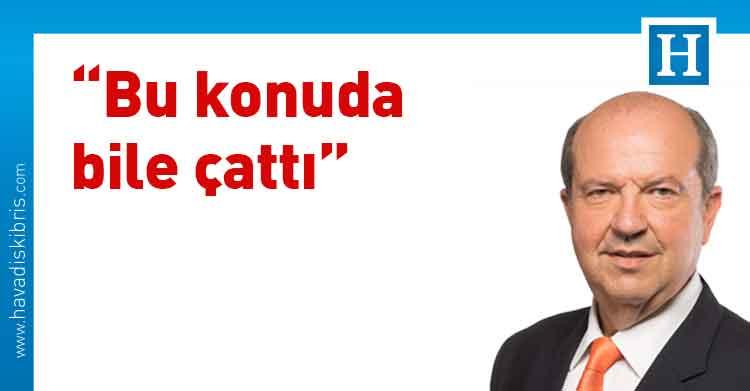 Başbakan Ersin Tatar, Cumhurbaşkanı Akıncı, Türkiye, Kıbrıs Türk Halkı, borularla su taşınması projesi,