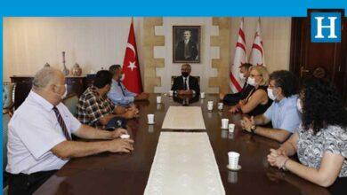 Photo of Cumhurbaşkanı Akıncı, YÖDAK yönetim kurulu üyelerini kabul etti