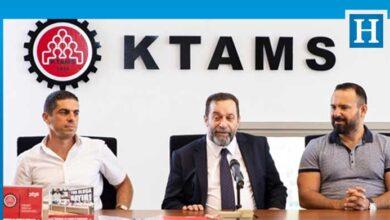 Photo of Serdar Denktaş KTAMS'ı ziyaret etti