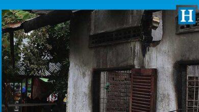 Photo of Endonezya'da yangın 382 aileyi evsiz bıraktı