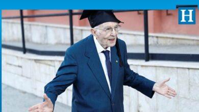 Photo of 96 yaşında üniversiteden mezun oldu