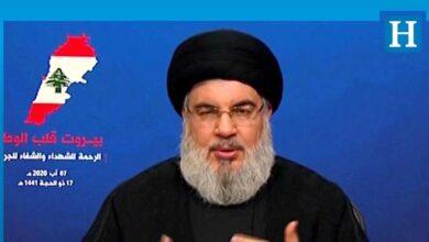 Photo of Hizbullah lideri Nasrallah: Yalan, Beyrut Limanı'nı kontrol etmiyoruz