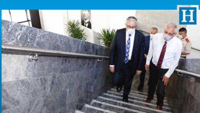Photo of Cumhurbaşkanı Akıncı, Girne Belediyesi'ni ziyaret etti
