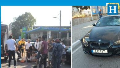 Photo of Araba ile bisiklet çarpıştı: 1 yaralı