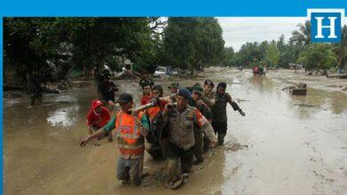 Photo of Endonezya'da 22 binden fazla kişi selden etkilendi