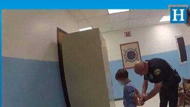 Photo of ABD polisinden 8 yaşındaki engelli çocuğa ters kelepçe