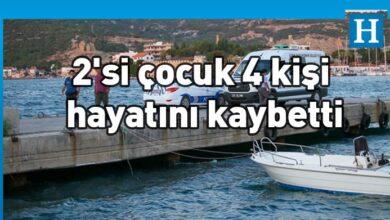 Photo of İzmir Foça'da tekne battı