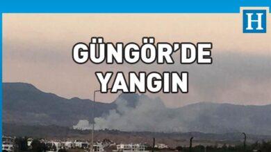 Photo of Güngör'de yangın