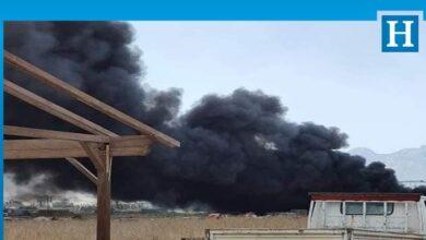 Photo of Haspolat Sanayide yangın