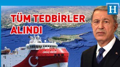 Photo of Hulusi Akar'dan Doğu Akdeniz mesajı