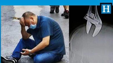 Photo of Yürürken kafasına İngiliz anahtarı saplandı