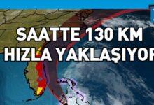 Photo of Issias Kasırgası Florida kıyılarına yaklaştı