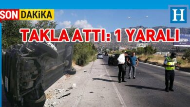 Photo of Lefkoşa-Girne anayolunda korkutan kaza
