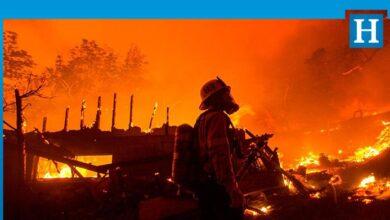 Photo of ABD'de 40 bin dönümlük yangın