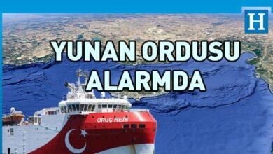 Photo of Türkiye Oruç Reis'i gönderdi, Yunan ordusu teyakkuza geçti