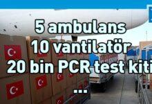 Photo of Türkiye'den 3 ülke ve KKTC'ye tıbbi yardım