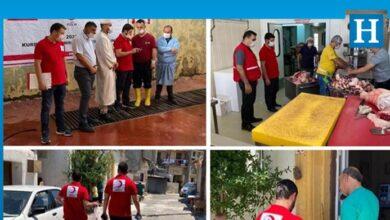 Photo of Türk Kızılayı, 9 bölgede 2 bin 500 aileye yardım yaptı