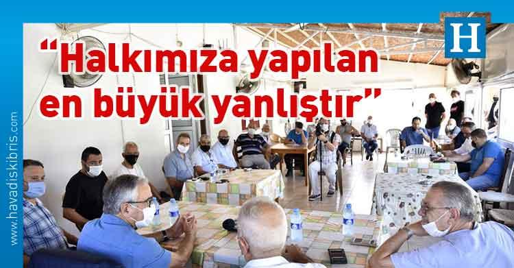 Mustafa Akıncı, Cumhurbaşkanı ve bağımsız Cumhurbaşkanı adayı Mustafa Akıncı, Taşkınköy Spor Kulübü, Lefkoşa Türk Belediyesi (LTB) Başkanı Mehmet Harmancı,