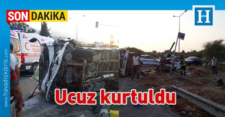 Abdulcelil Korkmaz, Alsancak, çarpışma, Girne, kaza, Türkmen Bingöl