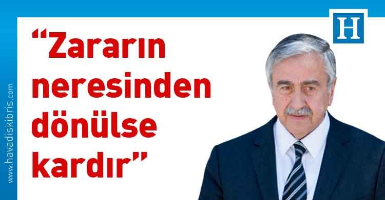 Cumhurbaşkanı ve bağımsız Cumhurbaşkanı adayı Mustafa Akıncı, Covid-19, Pandemi,
