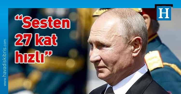 hipersonik silah, Rusya, Rusya Devlet Başkanı Vladimir Putin, ABD, Avangard,