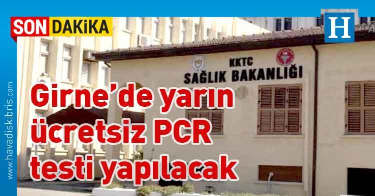 Sağlık Bakanlığı, ücretsiz PCR testi , Girne, Girne Turizm Limanı,