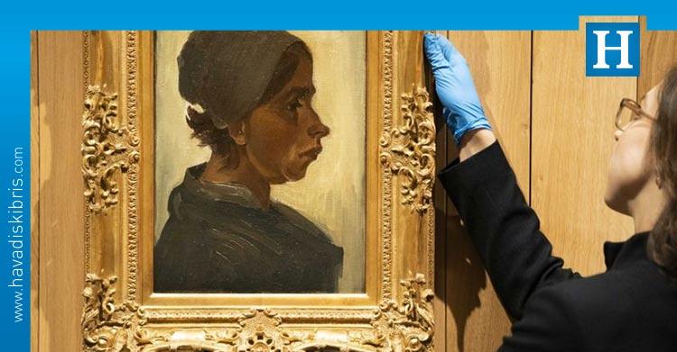 Van Gogh'un Kadın Başı tablosu