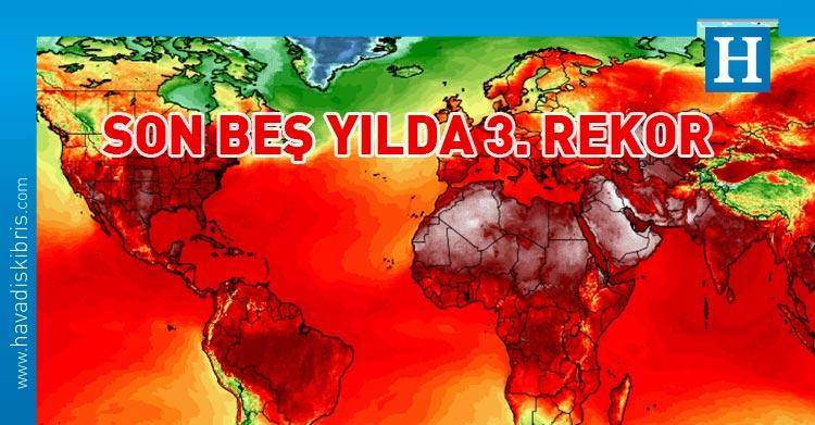 kuzey yarımkurede sıcaklık rekoru
