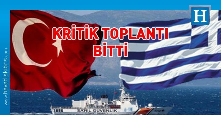 Türkiye Yunanistan görüşmesi
