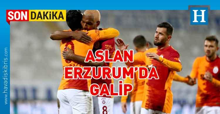 Türkiye, Süper Lig, Büyükşehir Belediye Erzurumspor, Galatasaray,