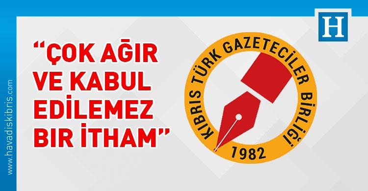 Kıbrıs Türk Gazeteciler Birliği, Başbakan Ersin Tatar, KTGB,
