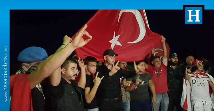 eylem, protesto, Kıbrıslı Türk, Derinya Sınır Kapısı,