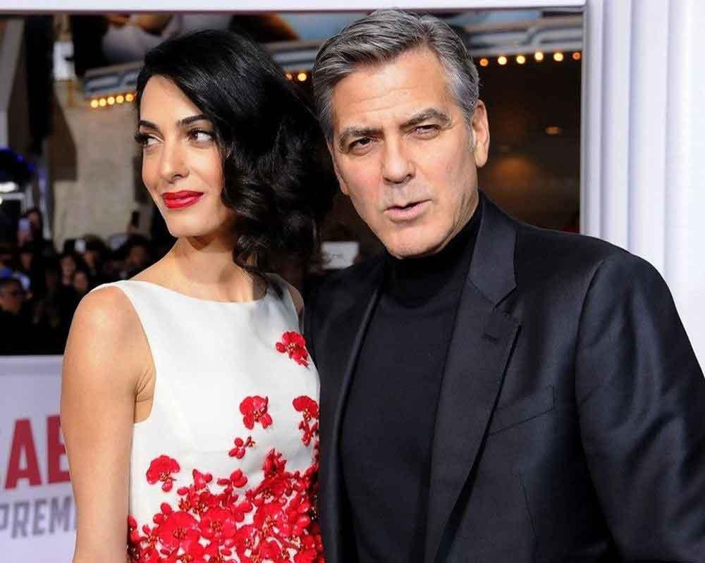 Hollywood, George Clooney, Amal Clooney, The Mills, tiyatro, bağış