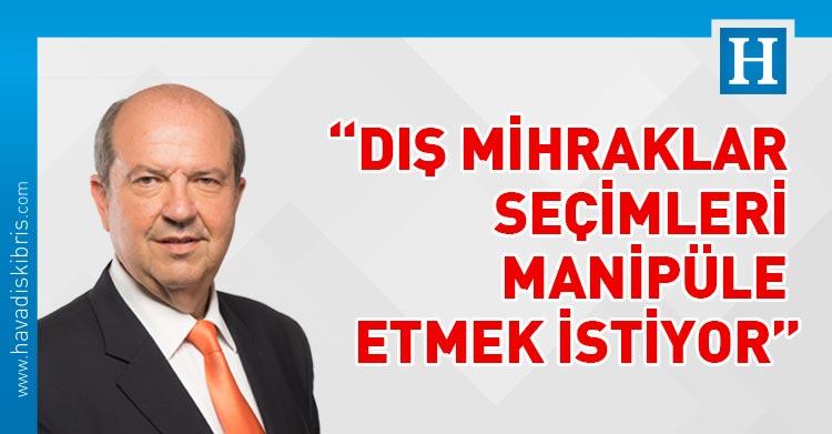 Başbakan Ersin Tatar, manipüle, Türkiye Cumhuriyeti, yabancı istihbarat örgütleri,